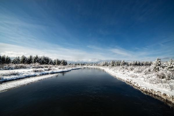Dec 11 - Madison River, West Yellowstone, Montana