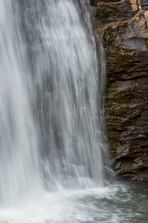 Looking Glass Falls - Pisgah National Forest - NC-4