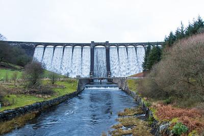 Claerwen Dam (Winter)