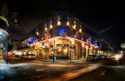 French Quarter at Night - New Orleans