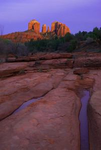 Cathedral Rock from Red Rock Crossing – Sedona, Arizona