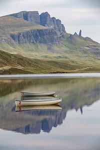 Loch Fada reflections Skye