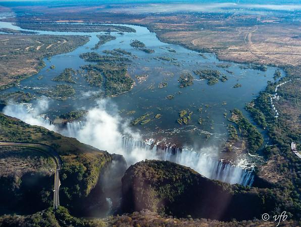 Vic Falls from Air