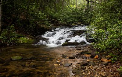 Cascades along Wildcat Creek