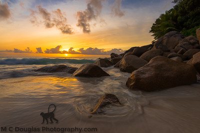 Anse Georgette Sunset, Seychelles