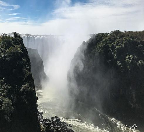 Victoria Falls from Bridge