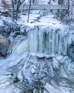 Minneopa Ice Falls