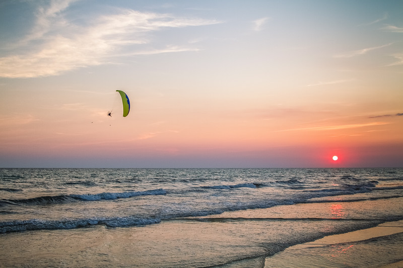 Free flying Sunset