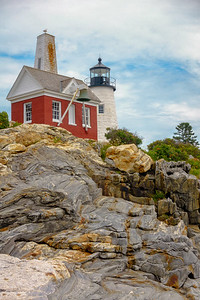 Pemaquid light house, Maine.