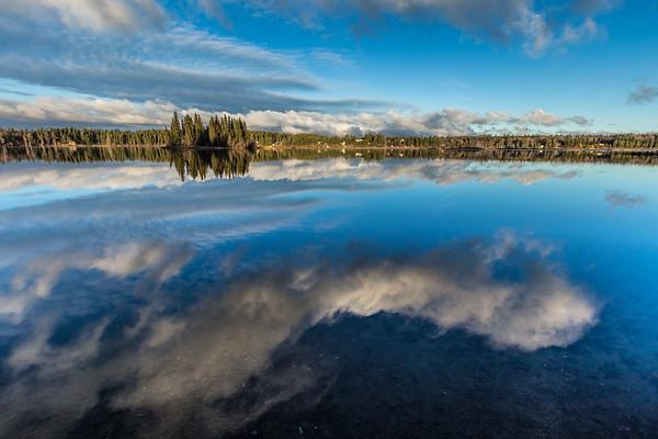 Ness Lake Reflections