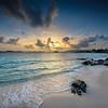 Sunrise on Sapphire Beach, St Thomas USVI