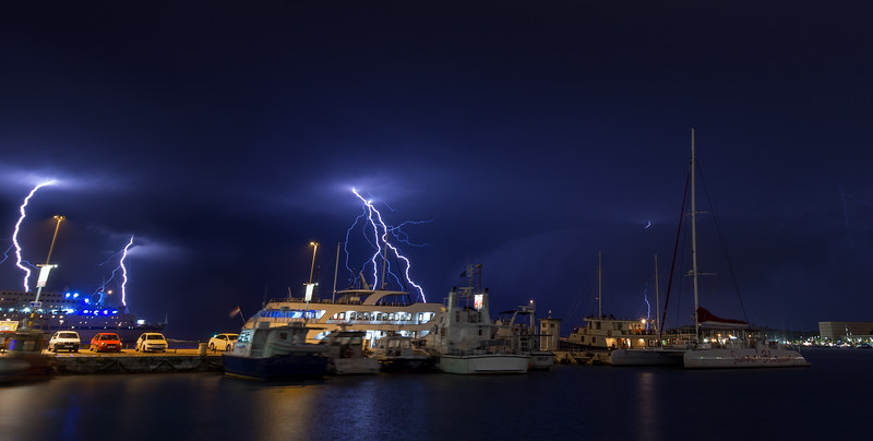 Thunderstorm in Split