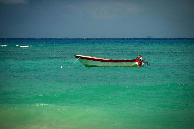 Fisherman's boat, Mexico