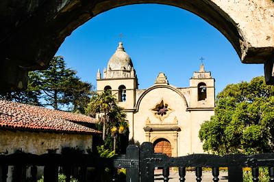 Carmel Mission Chapel