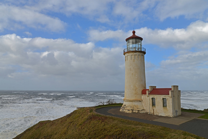Lighthouse, Cape Disappointment State Park, Washington State