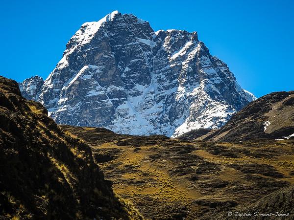 Heading into the Condorirri Range....Bolivian Andes