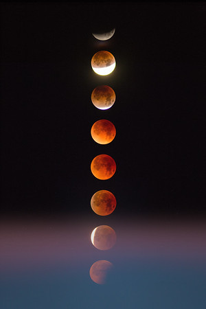 Stack of Blood Moons