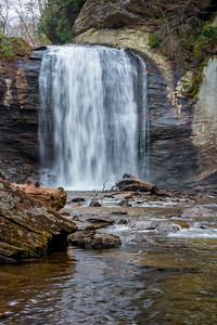 Looking Glass Falls - Pisgah National Forest - NC-9