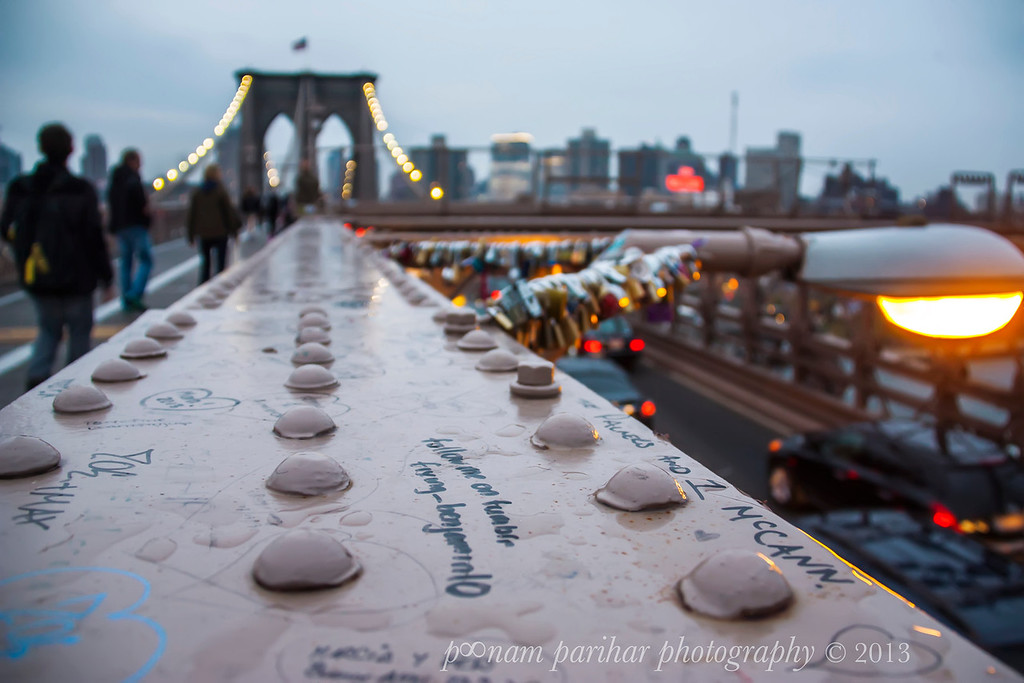 Brooklyn Bridge Locks Of Love New York City