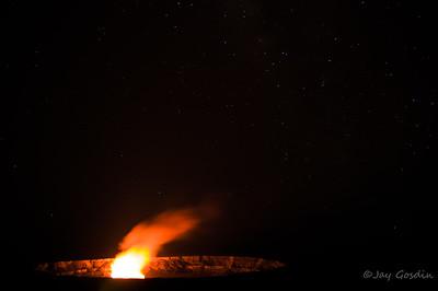 Halema'uma'u Crater, Volcano National Park