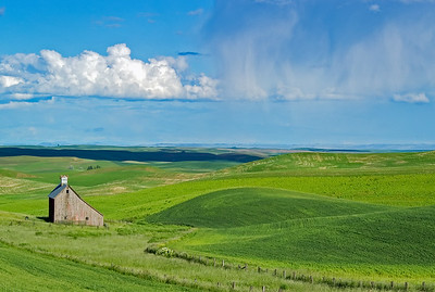 Barn in the Palouse, WA.