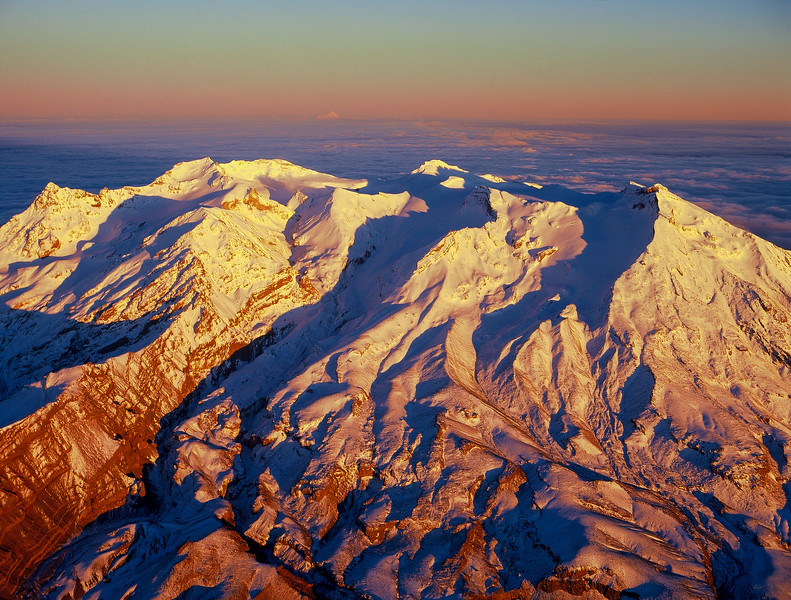 Mount Ruapehu From Above
