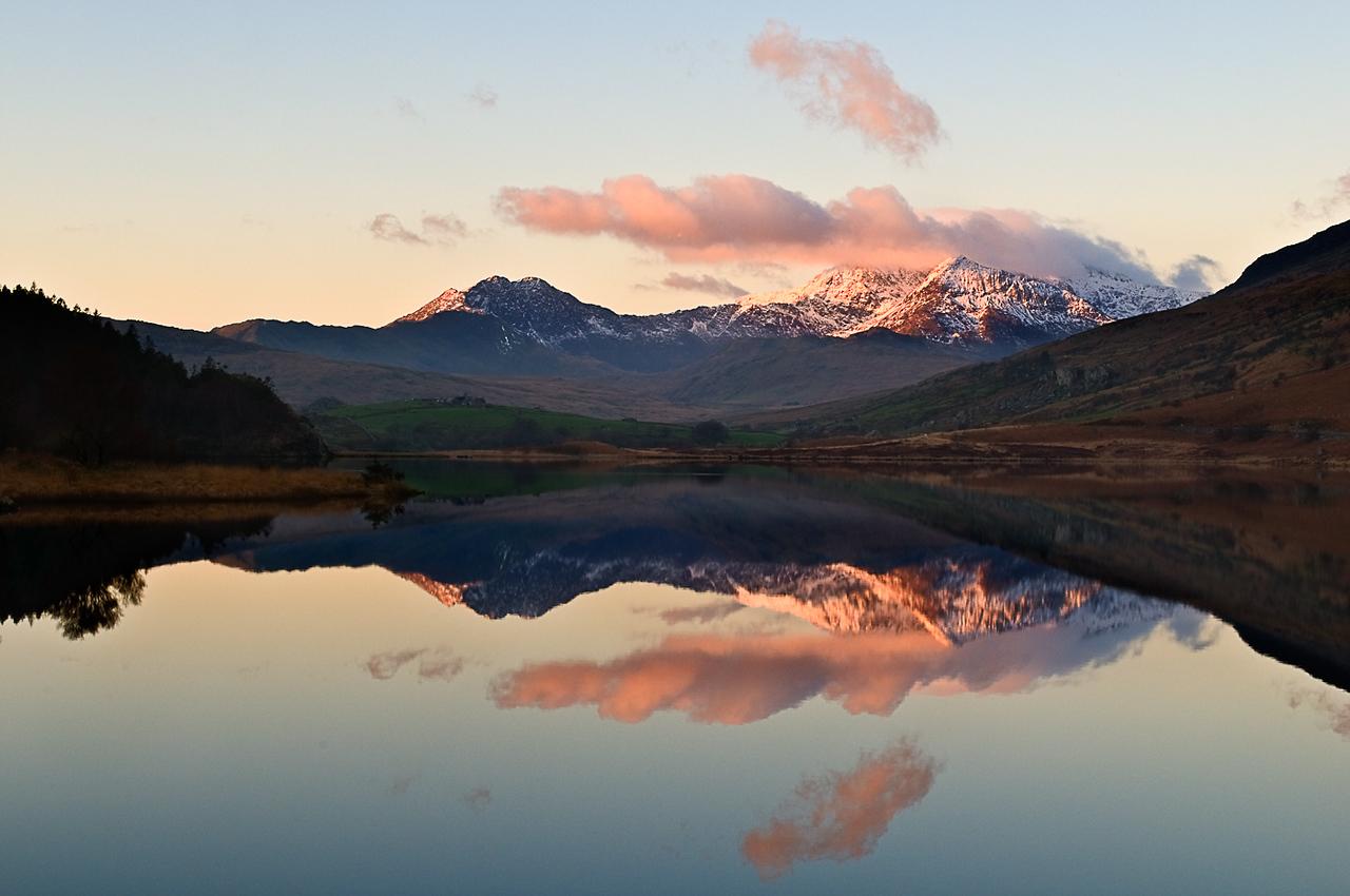 Dawn over Snowdon