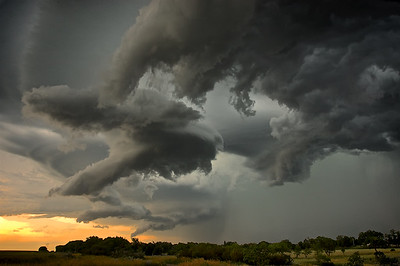 """""""Something wicked this way comes""""... A summer Storm - near Outlook, Saskatchewan"""