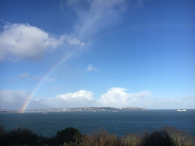 Rainbow over Torbay (1)