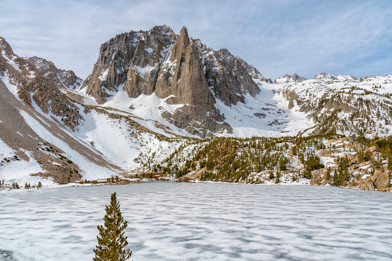 Second Lake and Temple Crag - John Muir Wilderness