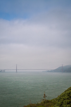 Hazy day on the bay