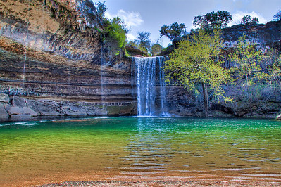 Hamilton Pool Falls and Pool