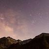 Bear Lake Starry Mountains