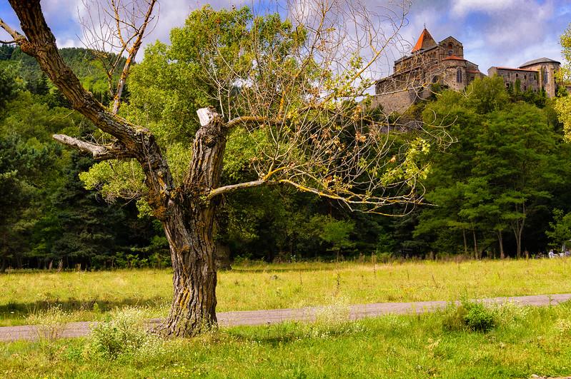 Balade à la Gravière à Chanteuges (Haute-Loire)