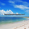 Beautiful beach and clouds at Cayo Costa State Park, Florida.