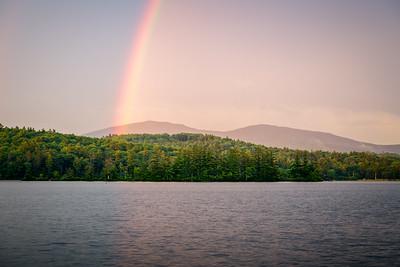 Kezar Lake Rainbow