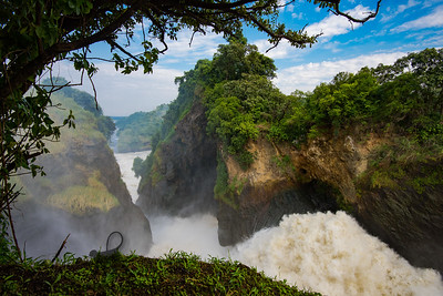 Murchison Falls, Top