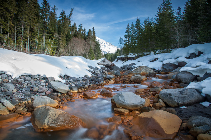 Kautz Creek at Ranier