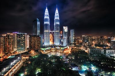 Petronas towers - Kuala Lumpur - Malaysia