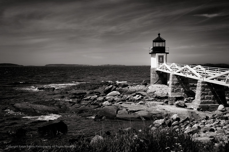 Vincent Versace B&W Workshop in Rockport Me