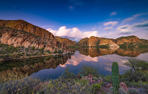 Canyon Lake Reflections