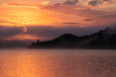 Knife Lake Sunrise #1 BWCA (111)