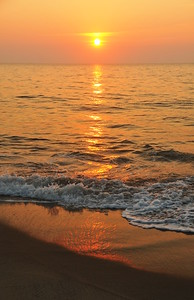 Sun In the Waves