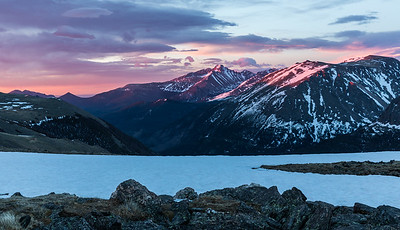 Trail Ridge Road at Sunrise, RMNP