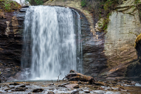 Looking Glass Falls - Pisgah National Forest - NC-13