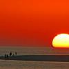 Sunset on Estero Island.