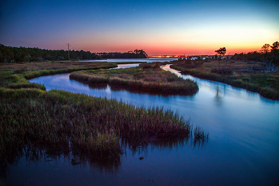 Croatan Wetland Sunset