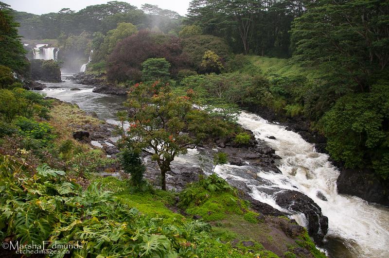 Upstream From Rainbow Falls