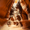 The Upper Antelope Canyons