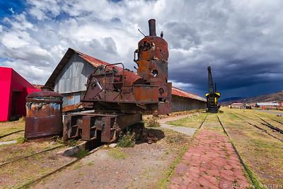 Old Rusty Crane